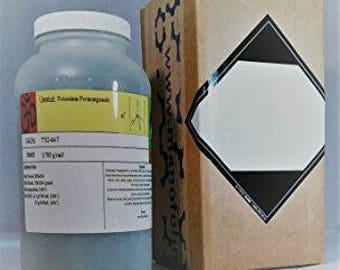Potassium Permanganate (98+%), Many Sizes Available 150g-3lb