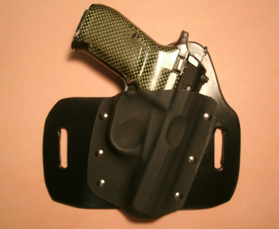 Fits Sig Sauer P938 hybrid OWB holster By Chief's Holsters