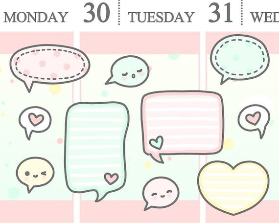Quote Bubble Cute Cute Doodle Speech Bub...