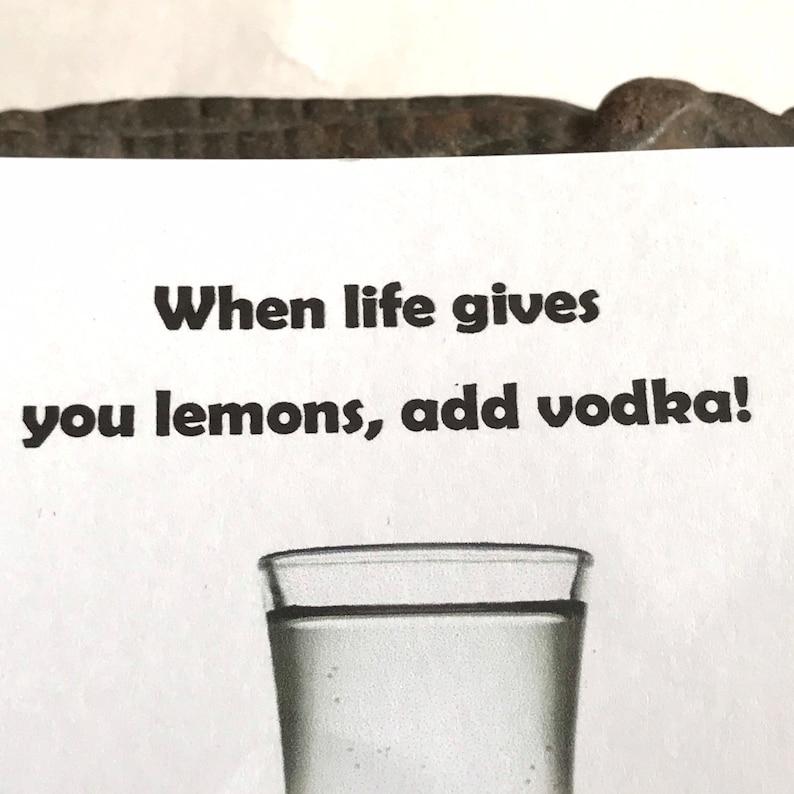 Alcohol Theme Wish Vodka Wish Bracelet Funny Wish Bracelet