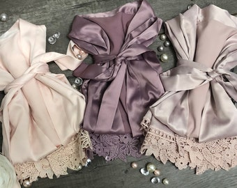 Flower Girl Robes-Bridesmaid Robes-Petal Patrol-Junior Bridesmaid-Spa Party  Robes-Kid Robes-Toddler Robes-Children Robe-Flower Girl Gifts fd1b95d80