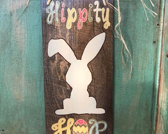 Hippity Hop Easter Bunny Craft