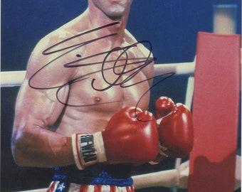 "Sylvester Stallone  - Original ""Rocky"" Autograph on Photo 20x30cm"