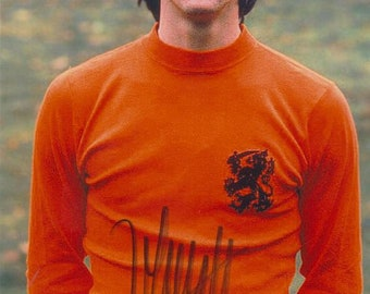 Johan Cruyff (†2016) - World Cup 1974 Netherlands - Original Autograph signed Photo 10x15cm - collected personally !!!