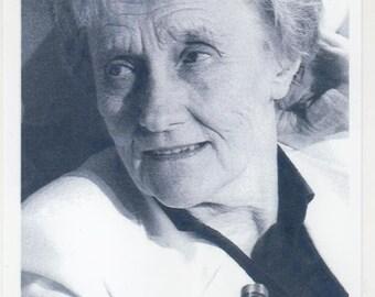 Astrid Lindgren (†2002) - Original Autograph on Photo 10x15cm