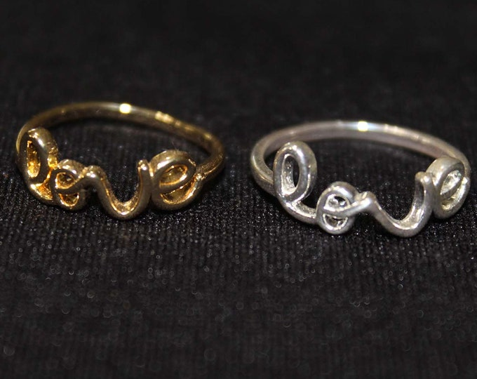 Love Ring - Silver and Gold
