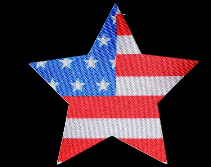 American Flag Star Pasties - Nipple Shields - Sun burn protectors - Perfect for going topless in the pool or when boating on the lake