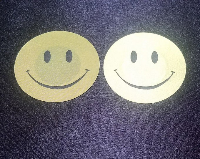 Smiley Face - Sun burn protectors / Nipple Shields / Pasties