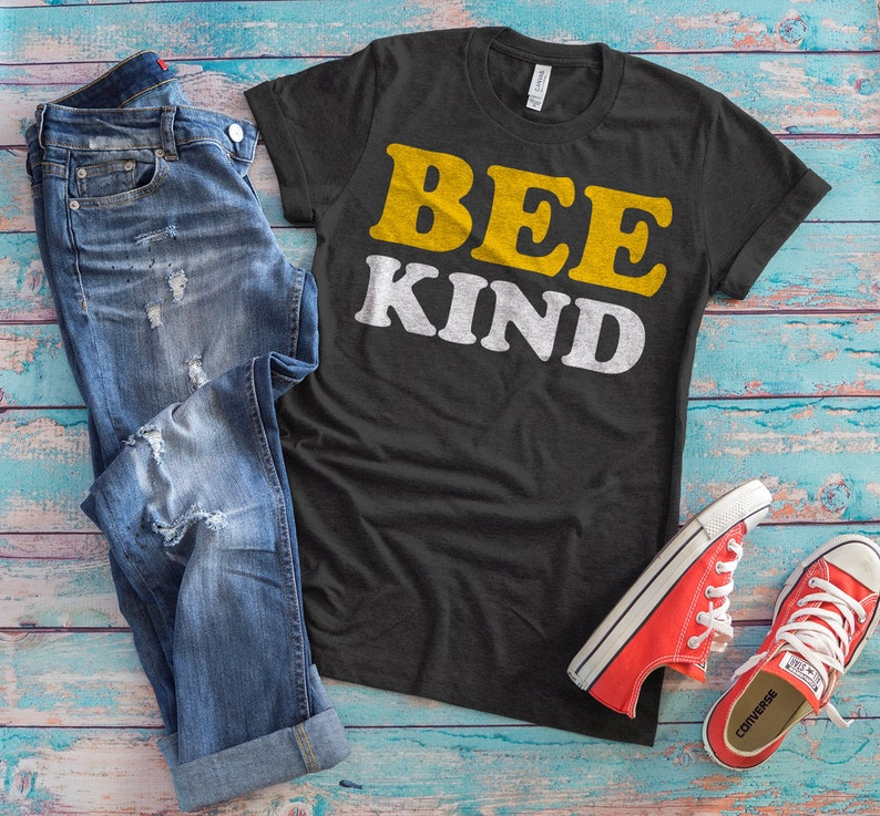 cdd3663bc Bee Kind Shirt Kindness Matters Be Kind Tee Love Is Kind | Etsy