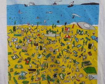 Avid beach goers get lucky