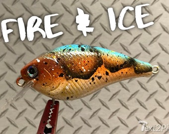 Custom fishing lures splatter craw series