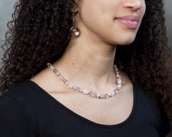 Pink Light Necklace