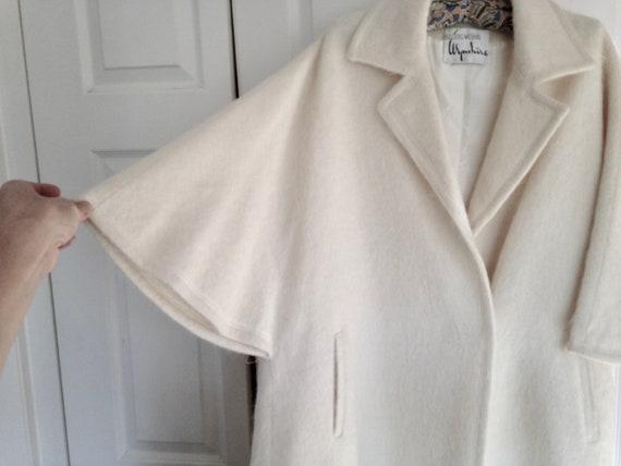 Pristine Bullocks Wilshire Vintage Coat - White W… - image 4