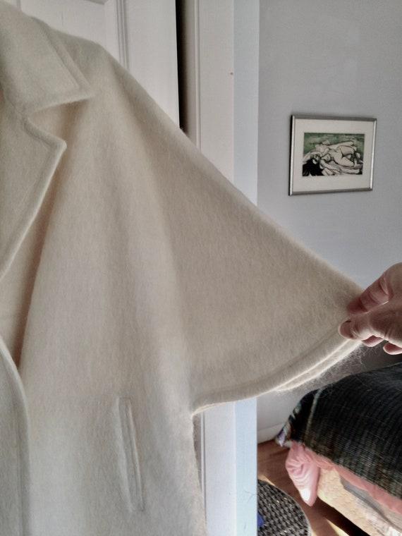 Pristine Bullocks Wilshire Vintage Coat - White W… - image 8