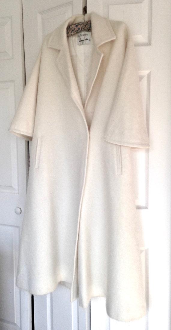 Pristine Bullocks Wilshire Vintage Coat - White W… - image 3