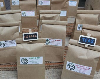Organic Herbal Teas - Loose Leaf - Over 20 blends available - One for Everyone!