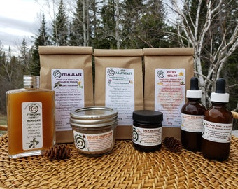 Herbal Subscription Boxes, Herbal Gift Boxes, Community Supported Herbalism Boxes, Herbal Share Boxes