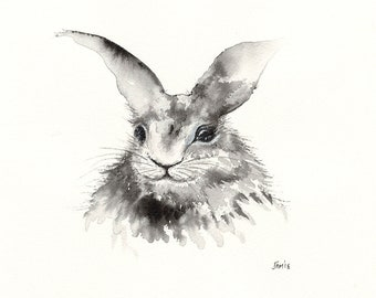 Rabbit - Sketch - Giclée Print