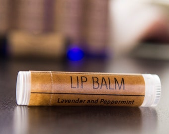 Lavender and Peppermint Lip Balm