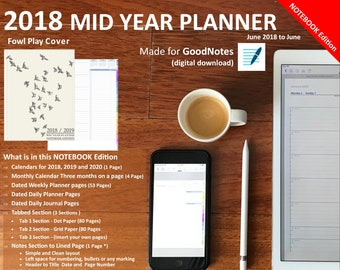 items similar to 2018 2019 large daily planner multicolor part 2