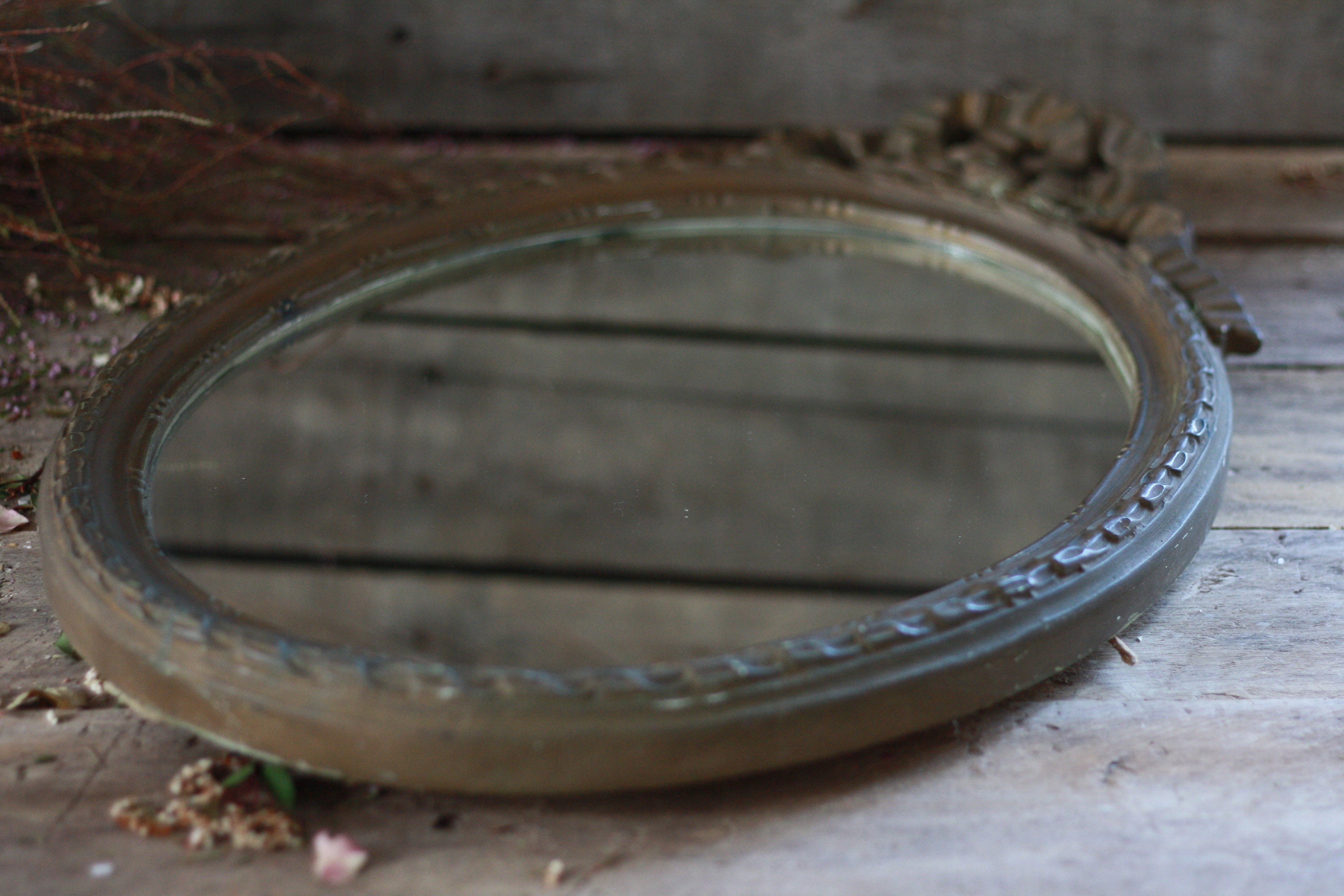 Large Oval Wood Mirror 19th Node Decor French Wood Frame French Oval Mirror Bathroom Mirror French Mirror Louis Xvi Decor Wood Frame