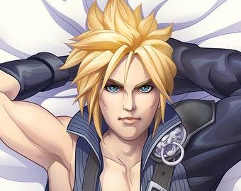 Cloud Dakimakura FFVII Final Fantasy 7