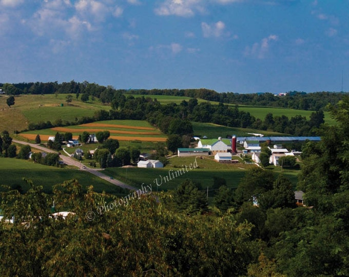 Amish Country Farms in the Heart of Ohio