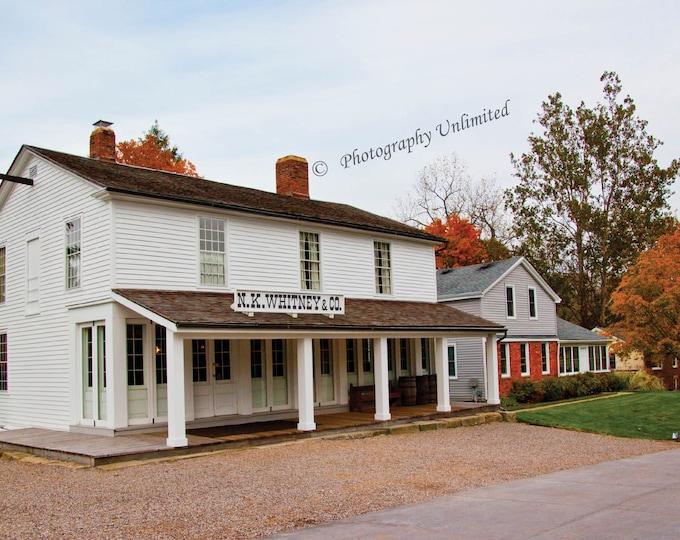 N.K. Whitney Store, Historic Kirtland Village, Kirtland Ohio, Photographic Print, Religious