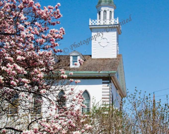 Historic Kirtland Temple In Springtime