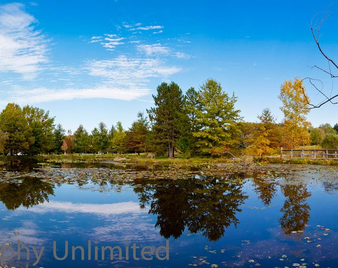 Pond Panoramic - Penitentary Glen Reservation