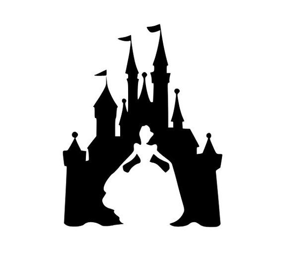 Cinderella Svg Castle Svg Disney Svg Princess Svg Etsy