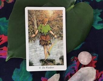 One Tarot Card