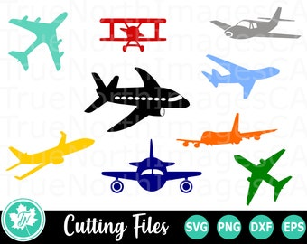 Airplane Clipart Etsy