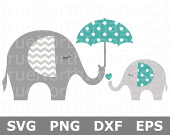 04e5b0684 Elephant SVG   Baby Elephant SVG   Mothers Day Svg   Elephant Clipart    Elephant Cut File   Svg Files for Cricut   Silhouette Files