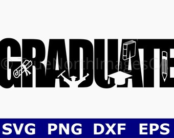 Graduation SVG / Graduation 2018 SVG / Class of 2018 SVG / Graduate svg / Graduation Clipart / svg Files for Cricut / Silhouette
