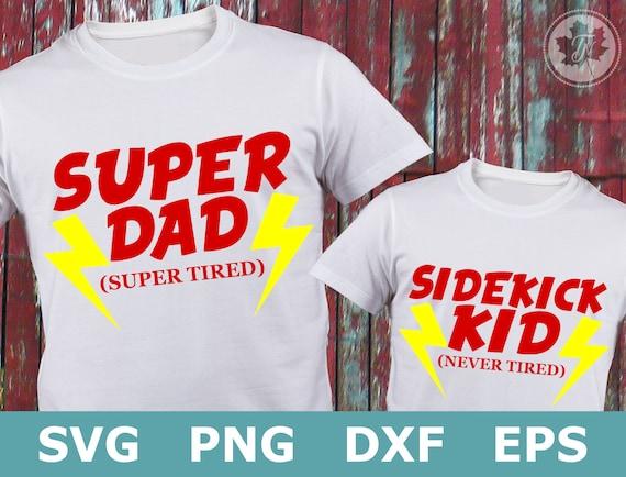 Dad Svg Fathers Day Svg Superhero Svg Super Dad Svg Etsy