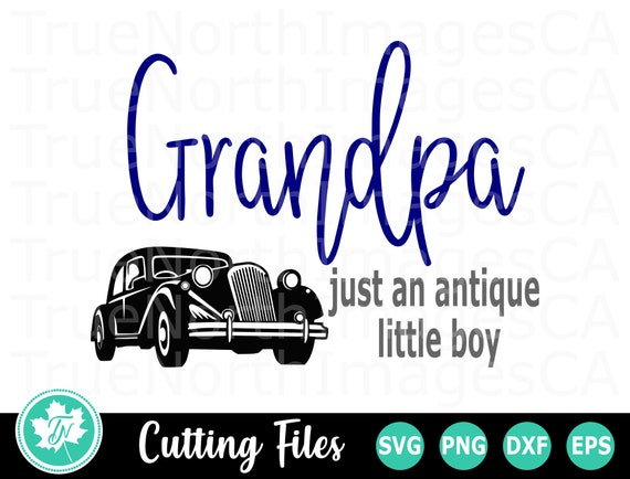 Free Grandpa ruins father's day after he sees the gift pickleboy got for him. Grandpa Svg Fathers Day Svg Grandfather Svg Vintage Car Etsy SVG, PNG, EPS, DXF File