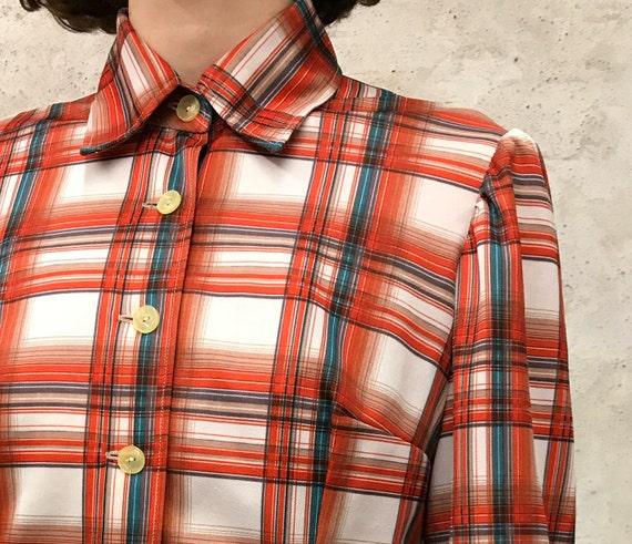 vintage 60's striped shirt - image 5