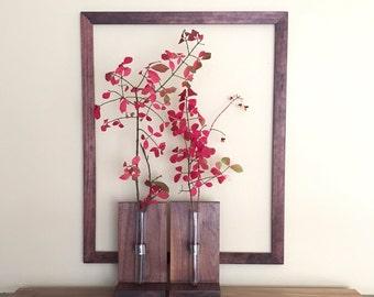 Bookend Vase/Defuser/Glass Vase
