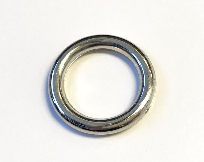 Silver Color Imitation metal O Ring 40 ligne