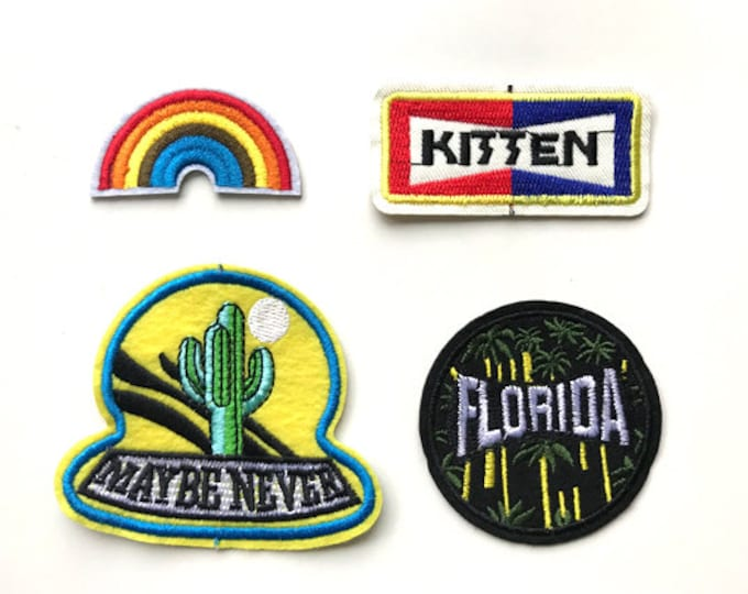 Various Applique, Iron on Patch, Sew on Patch