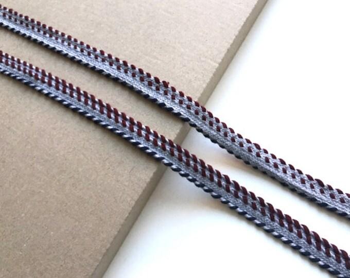 "10yd/set, Multi-color 1/2"" jacquard cotton fashion tape trim"