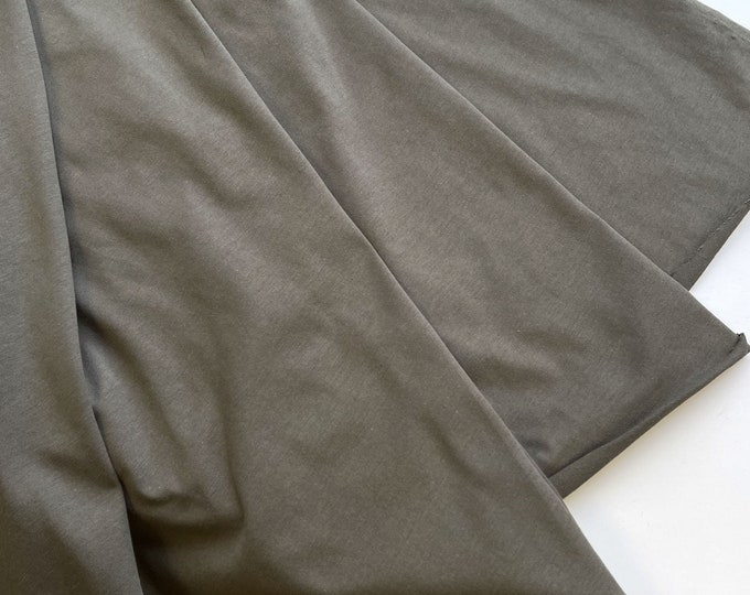 "100% cotton jersey knit fabric - Olive Green  72/74"" (Selling per yard)(Fabric 2)"