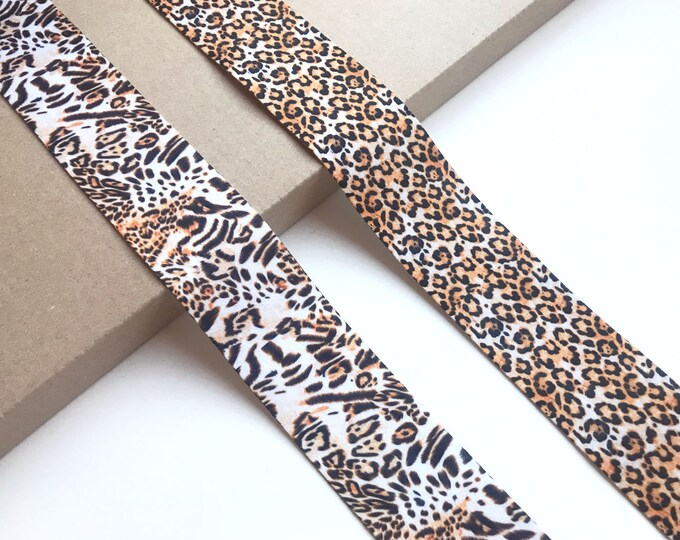 Leopard, Jaguar Animal Ribbon tape trim 1 1/2 ""