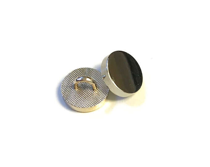 Metal button(Gold, Silver) 16 ligne