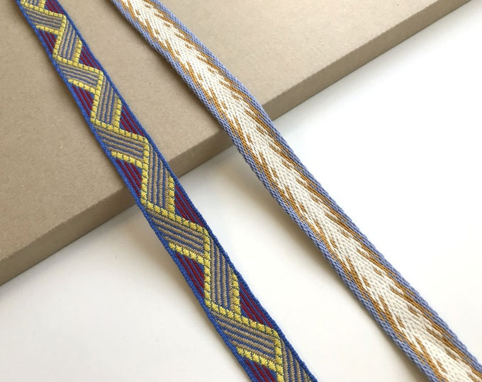 Jacquard trim(Soft touch, 2 tribal pattern) (FT1)