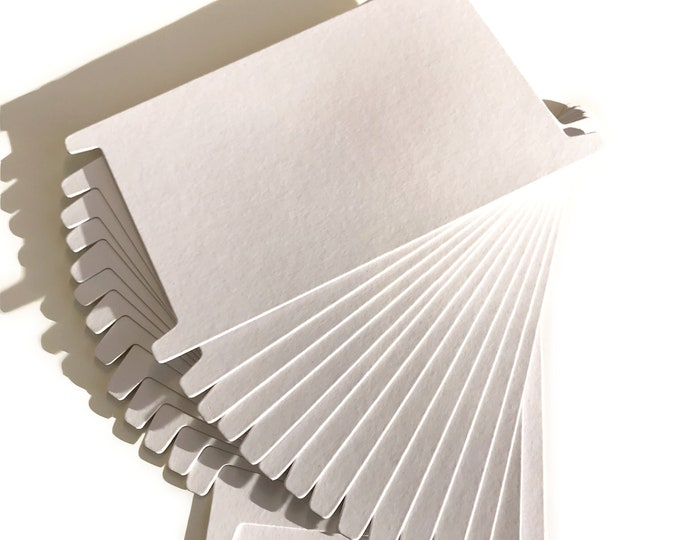 H Shape White Cardboard Spool Organizer