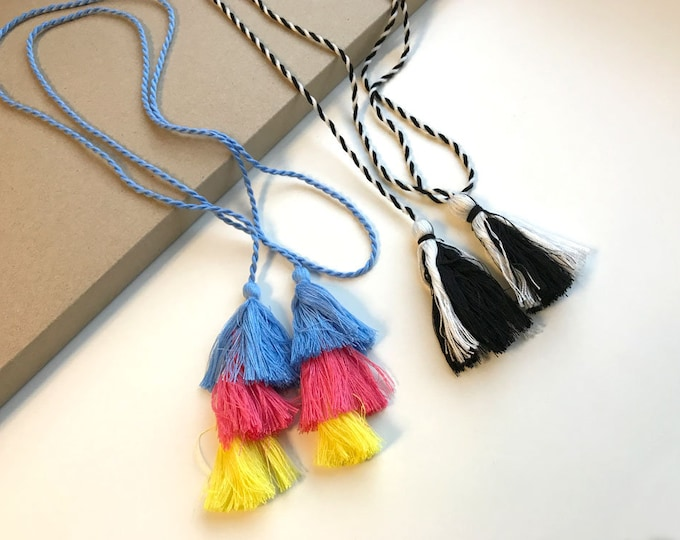 Multiple colors and layers TASSEL CORD STRING (FT6)