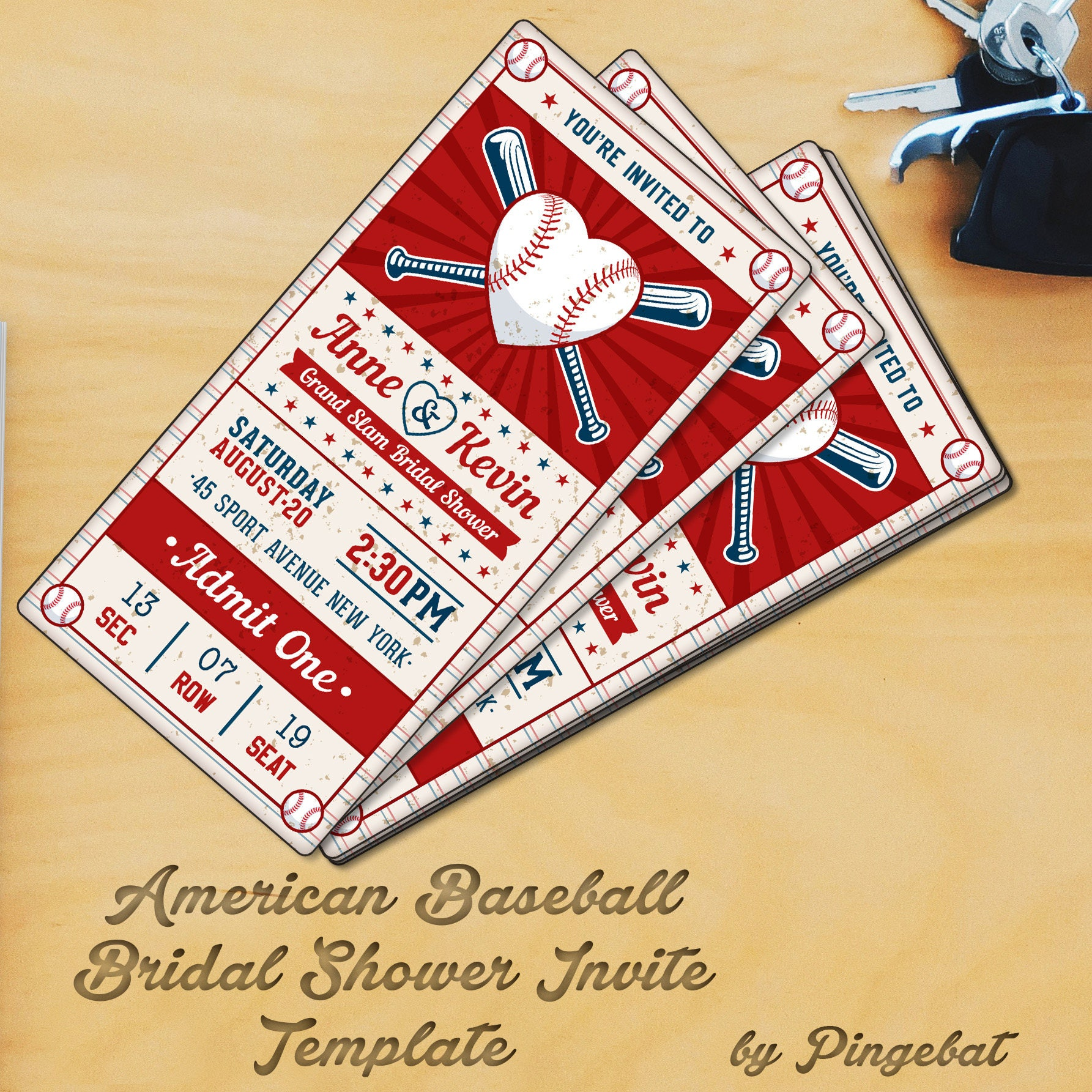 baseball bridal sower vertical invitation templates jpg 1785x1785 baseball bridal shower invitations