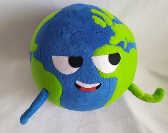 Custom plush. It is a simple toy character Planets of our Solar System Song
